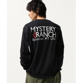 (JOURNAL STANDARD/ジャーナルスタンダード)MYSTERY RANCH/ミステリーランチ : BUILT FOR THE MISSION TEE L/S/メンズ ブラック