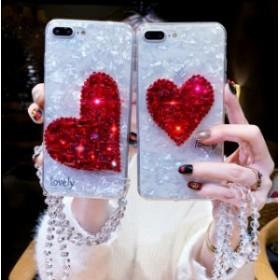 スマホケース 携帯ケース Apple スマートフォンケース iPhone6/7/8/plus/X/XR/XS ハート キラキラ 可愛い