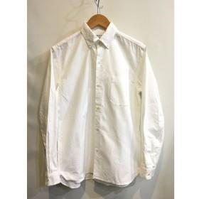 二子玉) ヤエカ YAECA 16SS オックスフォードシャツ メンズ S ホワイト カジュアルシャツ トップス コットン