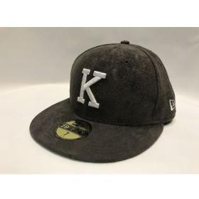 代官山) キス×ニューエラ KITH×NEW ERA K 59FIFTY CAP スエード キャップ 7 55.8cm 帽子