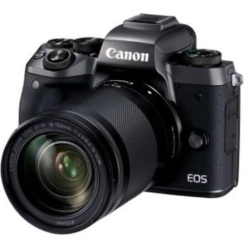CANON EOS M5 EF-M18-150 IS STMレンズキット [ミラーレス一眼カメラ(2420万画素)]【あす着】