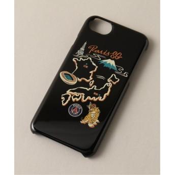 EDIFICE Paris Saint-Germain TOKYO / パリサンジェルマン iPhone Case ブラック B フリー