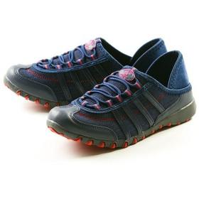 フットプレイス サンタバーバラ・ポロ・アンド・ラケットクラブ 2way 靴 スニーカー レディース インディゴ 23.5cm 【FOOT PLACE】