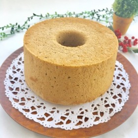 (エスプレッソ)米粉のふわもちシフォンケーキ