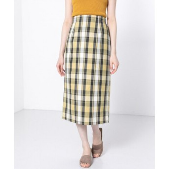 SENSE OF PLACE(センスオブプレイス) スカート スカート チェックアイラインスカート
