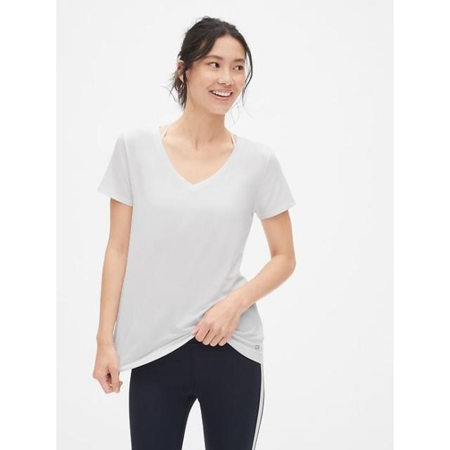 Gap Breathe VネックTシャツ