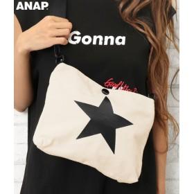 【セール開催中】ANAP(アナップ)キャンバスミニショルダーバッグ