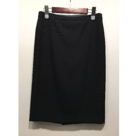 経堂) ベイジ BEIGE タイト スカート 定価2.4万 ブラック サイズ6 レディース タグ付 美品