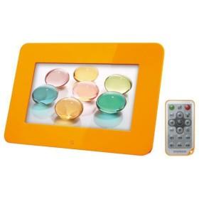 EXEMODE(エグゼモード)7インチワイド液晶デジタルフォトフレーム PF-72-OR (オレンジ)