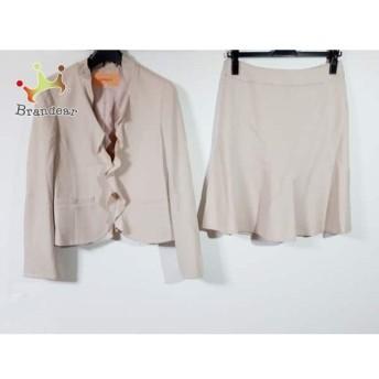 スーナウーナ SunaUna スカートスーツ サイズ38 M レディース ベージュ 新着 20190827