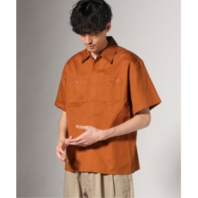 JOURNAL STANDARD UNIVERSAL OVERALL×JS/ 別注 : ワークシャツ ブラウン M