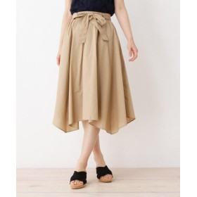 DRESKIP ドレスキップ イレヘム共ベルト付きスカート