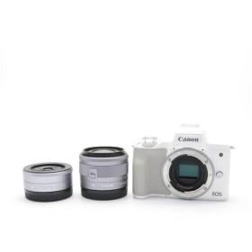 《良品》Canon EOS Kiss M ダブルレンズキット
