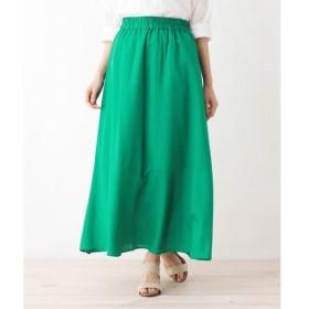 SHOO・LA・RUE / シューラルー 【WEB限定サイズあり】レーヨン×リネンロングスカート