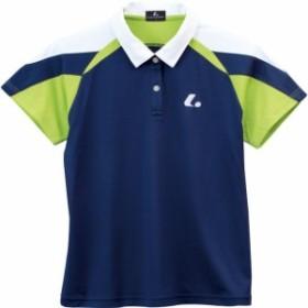 LUCENT ゲームシャツ W NV【LUCENT】ルーセントテニスゲームシャツ W(xlp4956)