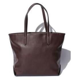 Otias オティアス シュリンクレザータイプ合成皮革トートバッグ