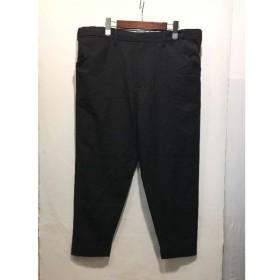 経堂) サンシー SUNSEA クロップド ウール パンツ サイズ2 メンズ ブラック 日本製