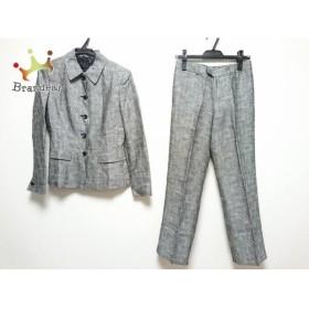 アナイ ANAYI レディースパンツスーツ サイズ38 M レディース 黒×白   スペシャル特価 20190809