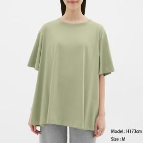 GU フレアオーバーサイズTシャツ