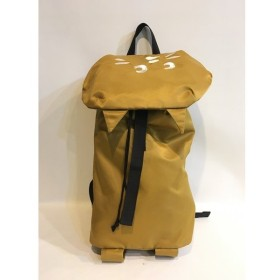 二子玉) にゃー NYA- バックパック ユニセックス ブラウン 茶色 デイパック リュックサック バッグ ネコ