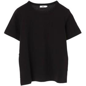 【オンワード】 koe(コエ) 半袖カットソーTシャツ Black M レディース 【送料無料】