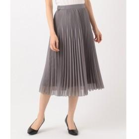 J.PRESS / ジェイプレス ブライトスパンボイル プリーツスカート