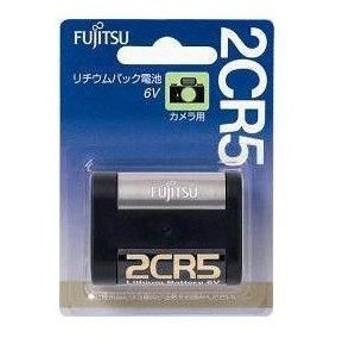 富士通(FDK)カメラ用リチウム電池 2CR5C(B)N