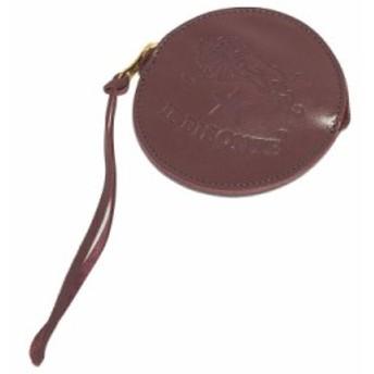 イルビゾンテ IL BISONTE コインケース C1012 885 PLUM 本革 プラム パープル 紫 小銭入れ プレゼント ギフト 新生活 贈り物 新品