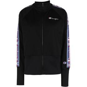 《期間限定 セール開催中》CHAMPION REVERSE WEAVE レディース スウェットシャツ ブラック XS ポリエステル 100% HIGH NECK SWEATSHIRT