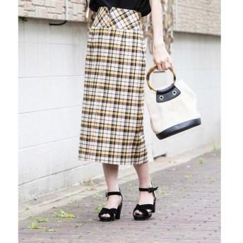 Ketty Cherie / ケティ シェリー 【WEB別注】ストレッチチェックペンシルスカート