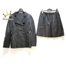 7608fa55cd19 グッチ GUCCI スカートスーツ サイズ38 S レディース 美品 黒 新着 20190523