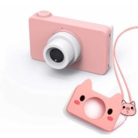 HY-00264子供用デジタルカメラ 子供プレゼント 一眼レフ 子供用カメラ ミニカメラ トイカメラ 800万画素 2.0インチIPS画面 4倍ズーム シ