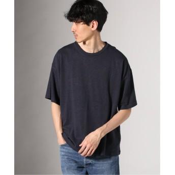 【60%OFF】 ジャーナルスタンダード ヘンプコットン クルーネック Tシャツ メンズ ブラック M 【JOURNAL STANDARD】 【セール開催中】