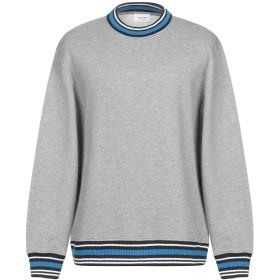 《セール開催中》WOOD WOOD メンズ スウェットシャツ グレー S ポリエステル 56% / コットン 44%