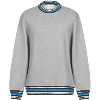 《期間限定セール開催中!》WOOD WOOD メンズ スウェットシャツ グレー S ポリエステル 56% / コットン 44%
