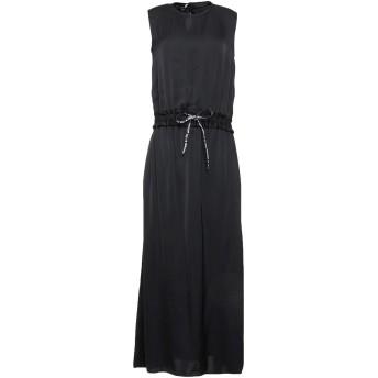《セール開催中》LOVE MOSCHINO レディース ロングワンピース&ドレス ブラック 40 レーヨン 100%