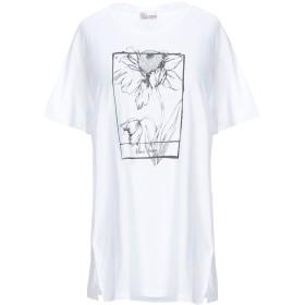 《期間限定セール開催中!》REDValentino レディース T シャツ ホワイト XS コットン 50% / レーヨン 50%