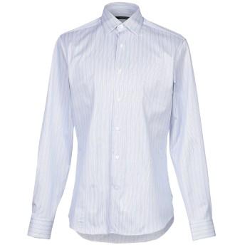 《9/20まで! 限定セール開催中》ROBERTO CAVALLI メンズ シャツ スカイブルー 39 コットン 100%