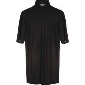 《期間限定 セール開催中》ROBERTO COLLINA メンズ ポロシャツ ブラック 48 コットン 100%