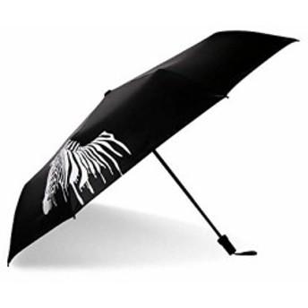 折りたたみ日傘 軽量 320g おしゃれ 馬 グラデーション 晴雨兼用 8本骨 折り畳み傘 UVカット 手動開閉 カバー付