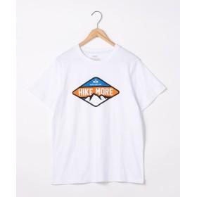 【50%OFF】 コーエン キャンププリントTシャツ メンズ WHITE S 【coen】 【セール開催中】