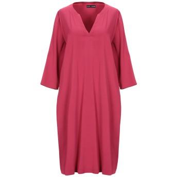 《セール開催中》EUROPEAN CULTURE レディース ミニワンピース&ドレス ガーネット XS レーヨン 96% / ゴム 4%