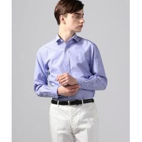 トゥモローランド ブリティッシュポプリン セミワイドカラーシャツ メンズ 63ライトブルー XS 【TOMORROWLAND】