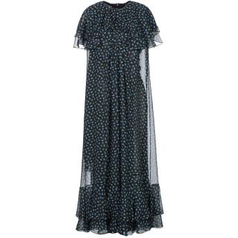 《セール開催中》MICHAEL KORS COLLECTION レディース 7分丈ワンピース・ドレス ブラック 2 シルク 100%