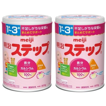 明治ステップ 2缶パック【粉ミルク】