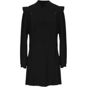 《期間限定セール開催中!》ISABEL MARANT レディース ミニワンピース&ドレス ブラック 40 アセテート 68% / シルク 32%