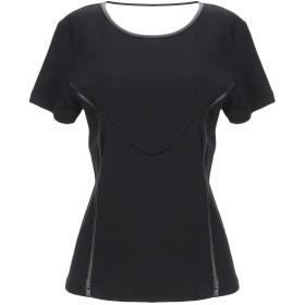 《セール開催中》DIESEL レディース T シャツ ブラック XS コットン 100% / ポリエステル / ポリウレタン