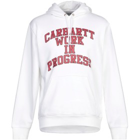 《セール開催中》CARHARTT メンズ スウェットシャツ ホワイト XS コットン 58% / ポリエステル 42%