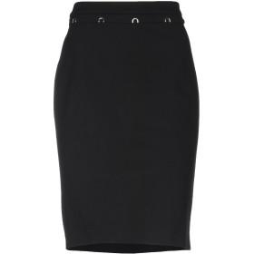 《送料無料》CAVALLI CLASS レディース ひざ丈スカート ブラック 44 レーヨン 69% / ナイロン 25% / ポリウレタン 6%