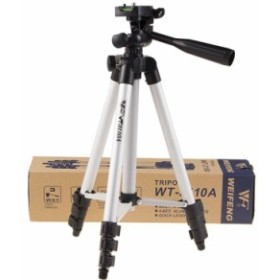 一眼レフカメラ・ビデオカメラ対応 スタンド 106cm 軽量アルミ製コンパクト三脚  スマートフォン用 調節可【C052+B182】ネコポス不可